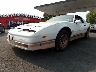 Photo 1: Beige 1985 Pontiac Firebird in Hayward CA exterior view from front driver's side