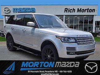 Photo 1: 2015 Land Rover Range Rover in Pasadena MD