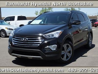 Photo 1: Becketts Black 2014 Hyundai Santa Fe GLS in Scottsdale, AZ exterior view from front driver's side