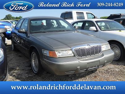 Photo 1: Silver Frost Metallic 2000 Mercury Grand Marquis LS in Delavan, IL