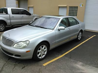 Photo 1:  2003 Mercedes-Benz S 430 in Pompano Beach, FL