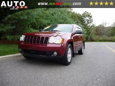 Photo 1:  2008 Jeep Grand Cherokee Laredo in Huntington, NY exterior view from front driver's side