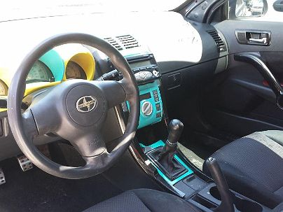 Photo 1:  2007 Scion tC in Tampa, FL front view of grill, headlights, hood and windshield