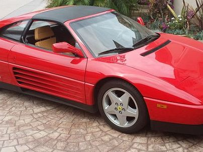 Photo 1:  1991 Ferrari 348 TS in La Jolla, CA exterior view of passenger side