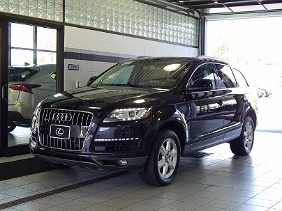 Photo 1:  2011 Audi Q7 Premium Plus in Toledo, OH exterior view from front driver's side