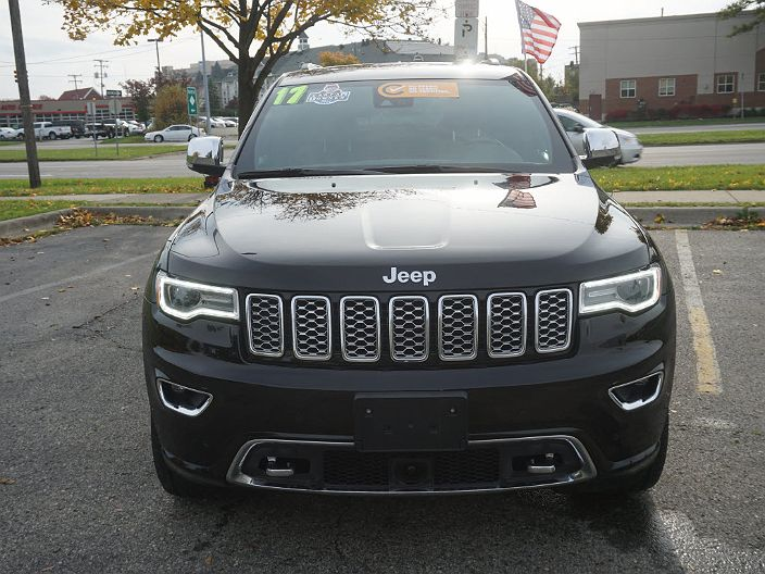 Used 2017 Jeep Grand Cherokee Overland For Sale In Royal Oak Mi