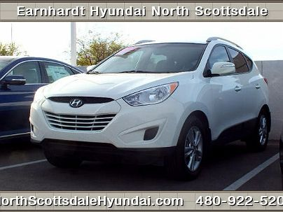 Photo 1:  2012 Hyundai Tucson GLS in Scottsdale, AZ exterior view from front driver's side