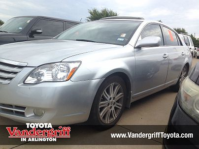 Photo 1:  2006 Toyota Avalon Limited Edition in Arlington, TX exterior view from front driver's side