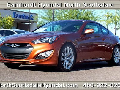 Photo 1: Copper 2013 Hyundai Genesis Grand Touring in Scottsdale, AZ exterior view from front driver's side