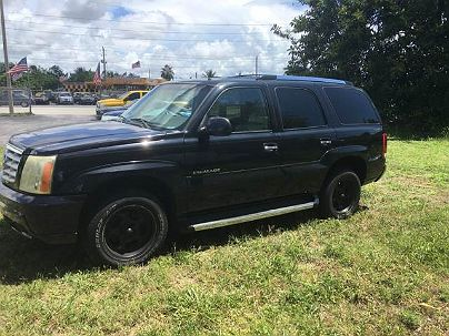Photo 1:  2002 Cadillac Escalade in Hallandale, FL exterior view from front driver's side