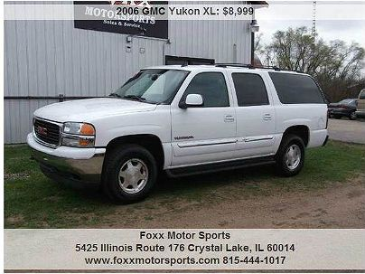 Photo 1:  2006 GMC Yukon XL 1500 SLT in Crystal Lake, IL exterior view from front driver's side