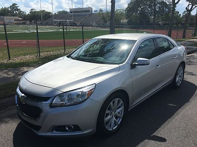 Photo 1:  2014 Chevrolet Malibu LT LT2 in Jacksonville, FL exterior view from front driver's side