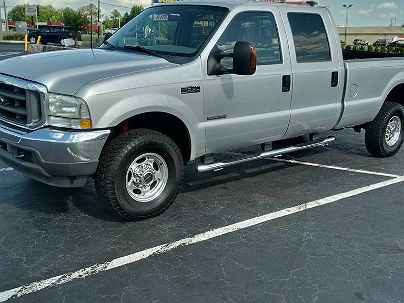 Photo 1:  2003 Ford F-350 Lariat in Conyers, GA exterior view from front driver's side