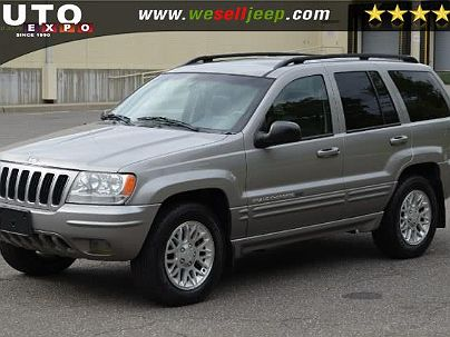 Photo 1: Graphite Metallic 2002 Jeep Grand Cherokee Limited Edition in Huntington, NY