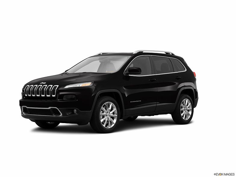 Photo 1: Black 2014 Jeep Cherokee in Alexandria, VA exterior view of driver's side