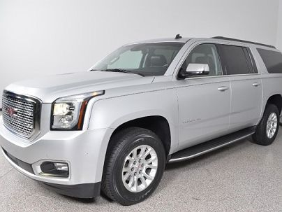 Photo 1:  2015 GMC Yukon XL SLT in Carrollton, TX exterior view from front driver's side