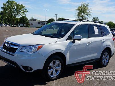 Photo 1:  2016 Subaru Forester 2.5i Limited in Broken Arrow, OK exterior view from front driver's side