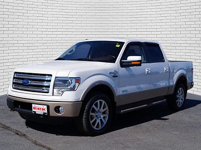Photo 1: White Platinum Metallic Tri-Coat 2013 Ford F-150 King Ranch in Wichita, KS