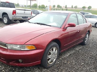 Photo 1: Burgundy 2001 Mitsubishi Galant ES in Columbus, OH exterior view from front driver's side