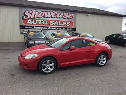 Photo 1:  2007 Mitsubishi Eclipse GS in Chesaning, MI exterior view from front driver's side