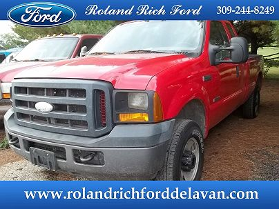 Photo 1:  2006 Ford F-250 XL in Delavan, IL exterior view from front driver's side