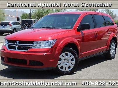 Photo 1:  2014 Dodge Journey SE in Scottsdale, AZ exterior view from front driver's side