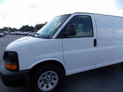 Photo 1:  2012 Chevrolet Express 1500 in Bryant, AR exterior view of passenger side