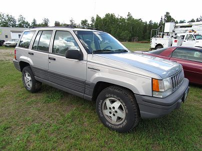 Photo 1: Dark Silver Metallic 1994 Jeep Grand Cherokee Laredo in Bemidji, MN