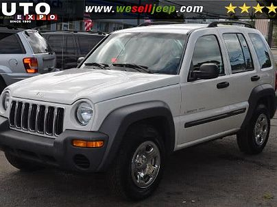 Photo 1: Stone White 2003 Jeep Liberty Sport in Huntington, NY