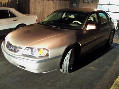 Photo 1: Sandrift Metallic 2003 Chevrolet Impala LS in Pound Ridge, NY exterior view from front driver's side