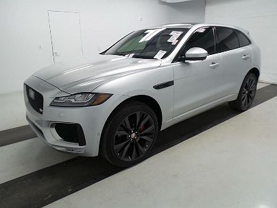Photo 1:  2017 Jaguar F-Pace First Edition in Marlborough, MA exterior view from front driver's side