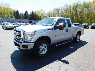 Photo 1:  2011 Ford F-250 XLT in Gowanda, NY exterior view from front driver's side