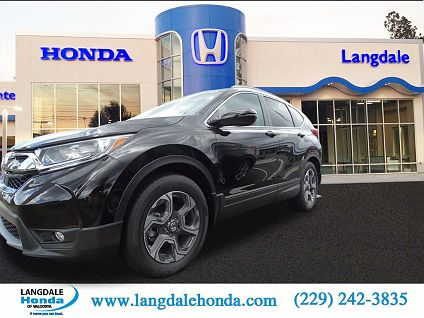 Photo 1: Black 2017 Honda CR V In Valdosta GA Exterior View From Front