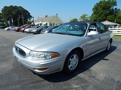 Photo 1: Sterling Silver Metallic 2001 Buick LeSabre Custom in Decatur, AL exterior view of driver's side