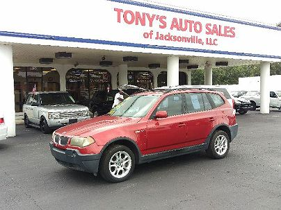 Photo 1:  2004 BMW X3 2.5i in Jacksonville, FL