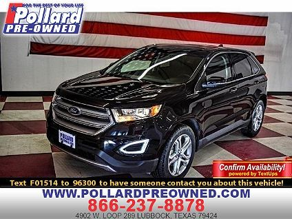 Ford Dealership Midland Tx >> Used 2017 Ford Edge Titanium For Sale In Midland Tx