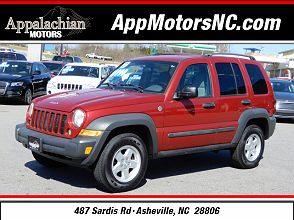 This 2007 Jeep Liberty Sport