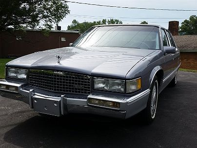 Photo 1:  1990 Cadillac Fleetwood in Clearfield, PA exterior view of driver's side