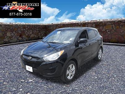 Photo 1:  2012 Hyundai Tucson GL in El Paso, TX exterior view from front driver's side