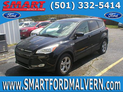 Photo 1: Shadow Black 2016 Ford Escape SE in Malvern, AR exterior view from front driver's side