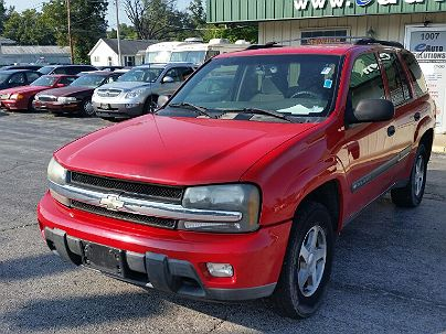 Photo 1:  2002 Chevrolet TrailBlazer LS in Crystal City, MO exterior view from front driver's side