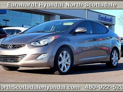 Photo 1: 2012 Hyundai Elantra Limited Edition with  in Scottsdale, AZ