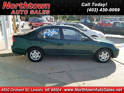 Photo 1: 2002 Honda Civic LX with  in Lincoln, NE