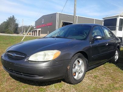 Photo 1:  2003 Ford Taurus SES in Sunny Side, GA exterior view from front driver's side