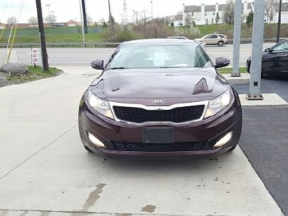 Photo 1: Burgundy 2013 Kia Optima EX in Columbus, OH
