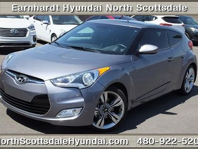 Photo 1: Triathlon Gray 2013 Hyundai Veloster in Scottsdale, AZ exterior view from front driver's side