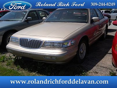 Photo 1:  1996 Mercury Grand Marquis LS in Delavan, IL exterior view from front driver's side