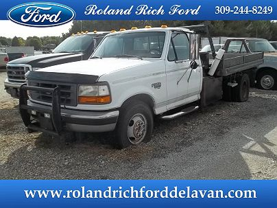 Photo 1:  1997 Ford F-350 XL in Delavan, IL exterior view from front driver's side