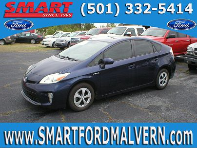 Photo 1: Nautical Blue Metallic 2012 Toyota Prius Two in Malvern, AR exterior view from front driver's side