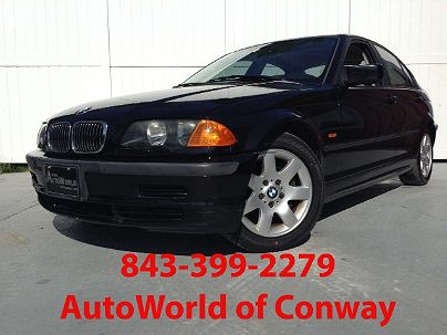 Photo 1:  2000 BMW 3 Series 323i in Conway, SC exterior view from front driver's side